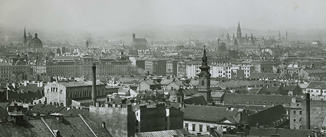 Panorama Wien, Leo Baeck Institute – New York | Berlin, Vienna Jewish Community Collection AR 2432, F 24082.
