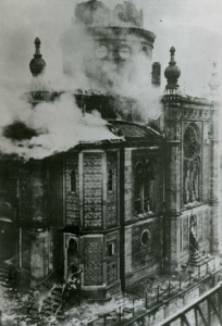 Leo Baeck Archives, Wiesbaden Synagogue Burning; Kristallnacht Synagogues; Destroyed, Wiesbaden, Jewish Community Collection AR 761, F 3216