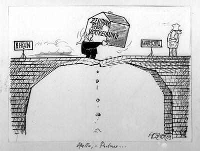Besatzungszonen karikatur Besatzungszone