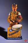 Advertising figure for »drummer«-cigarettes with a member of the SA, Germany, about 1933, DHM