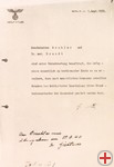 Hitlers secret memo of the Euthanasia program (»Euthanasie-Erlass«), Berlin, 1.9.1939, Berlin, Bundesarchiv, R 3001 alt 22 4209 Blatt 1
