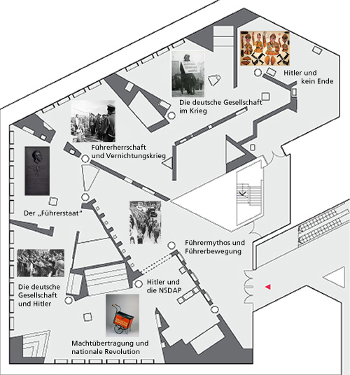 Floor Plan I. M. Pei Building - basement floor - German Historical Museum