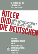 Poster - Hitler and the Germans. Nation and Crime