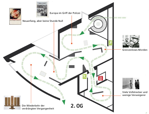 Floor Plan I.M. Pei Building - second floors - German Historical Museum