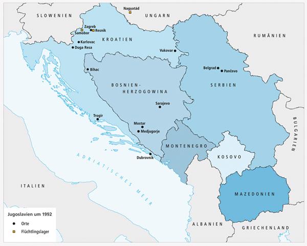 karte jugoslawien Deutsches Historisches Museum Berlin   Order and Annihilation