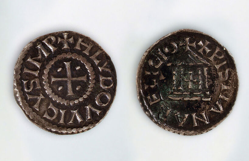 Empire denar of Emperor Louis the Pious, 814-840. (Inv.Nr. N 2000/45)