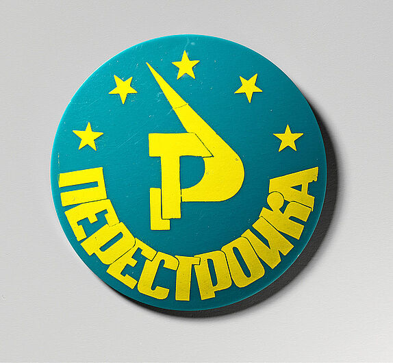 Button Perestrojka, 1985/1989. (Inv.Nr.A 2001/1)