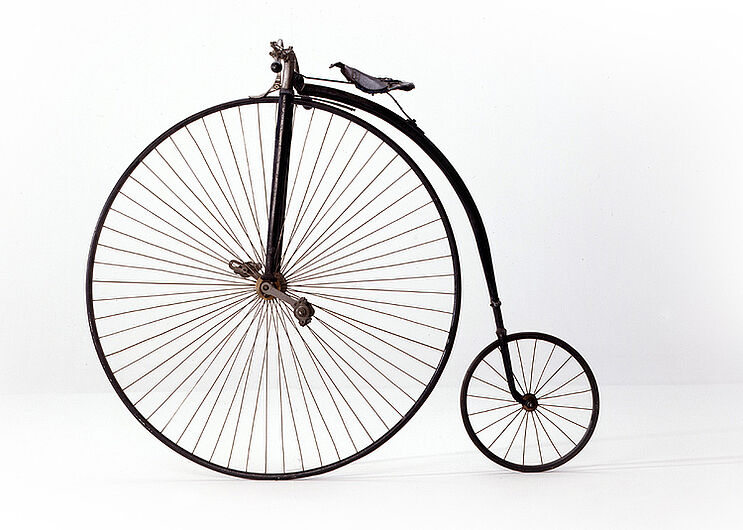 Penny-Farthing, ca. 1890. (Inv.Nr. Pro 60/35)
