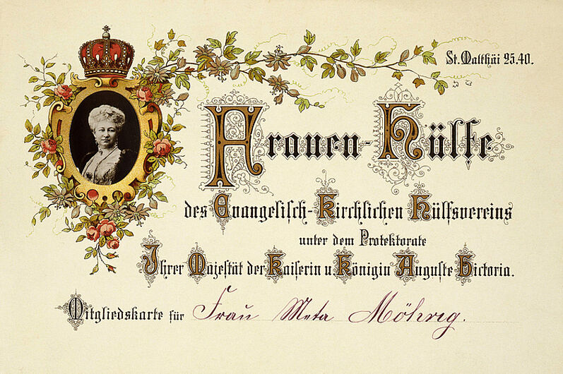 Membership Card of the Evangelical Church Women