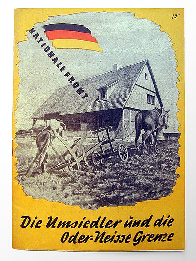 Brochure on Resettlers in the GDR and Relations with Poland, ca. 1952. (Inv.Nr. DG 56/1136)