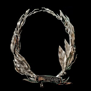 Laurel wreath with dedication to King Wilhelm I from Prussia, 1866