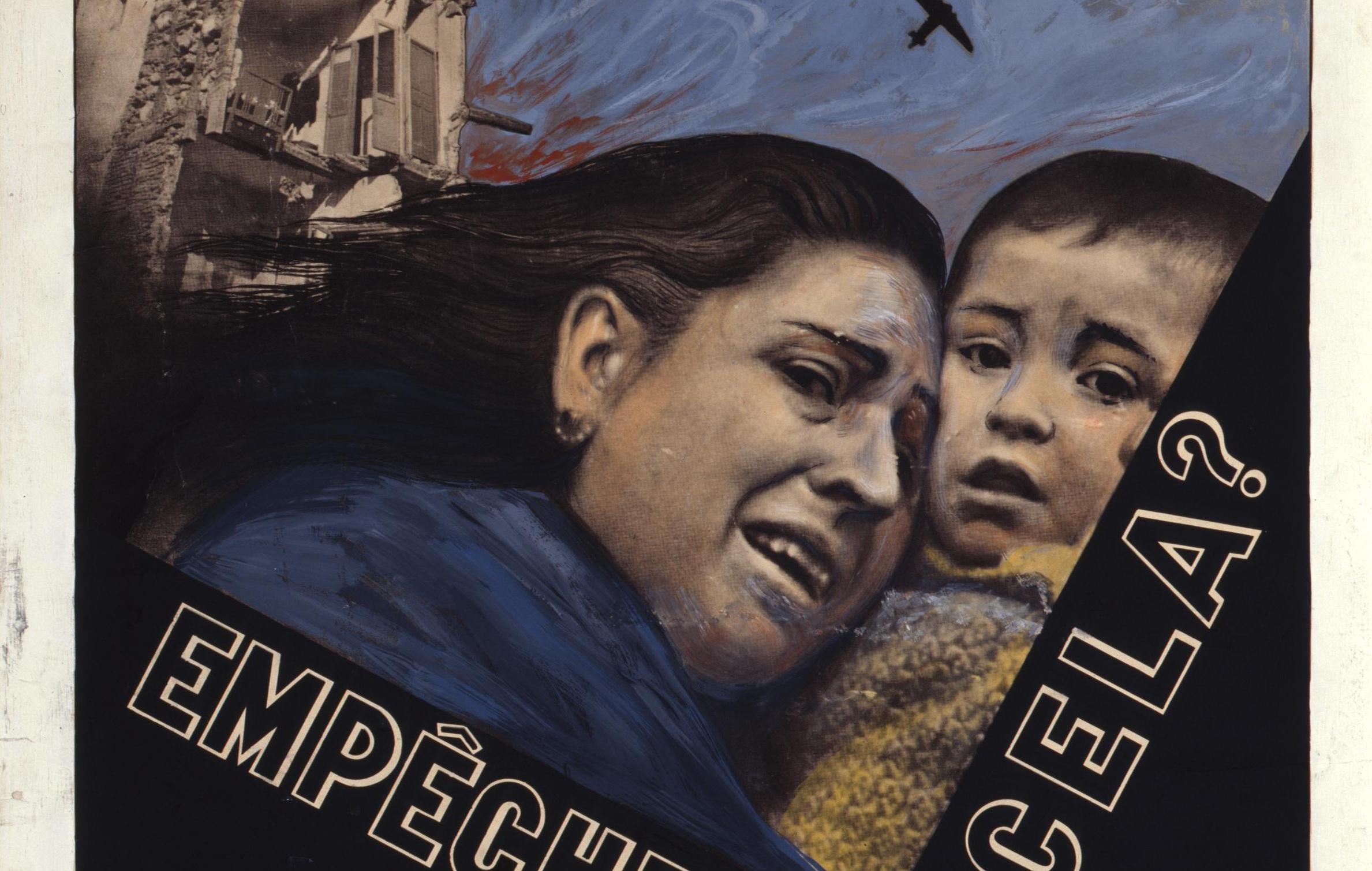 Aufruf der spanischen volksfront-regierung zur solidarität, 1937