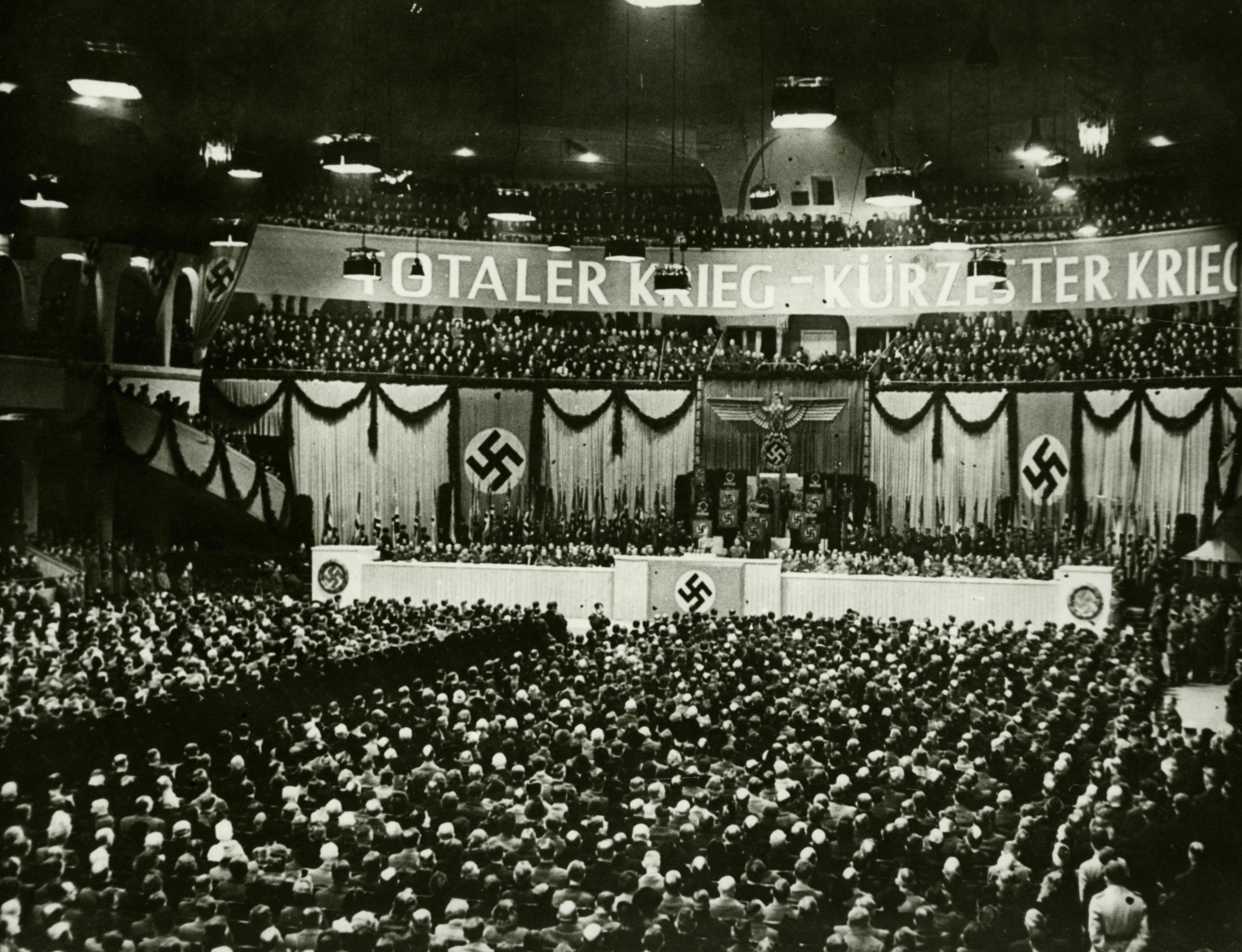 Goebbels Rede Totaler Krieg