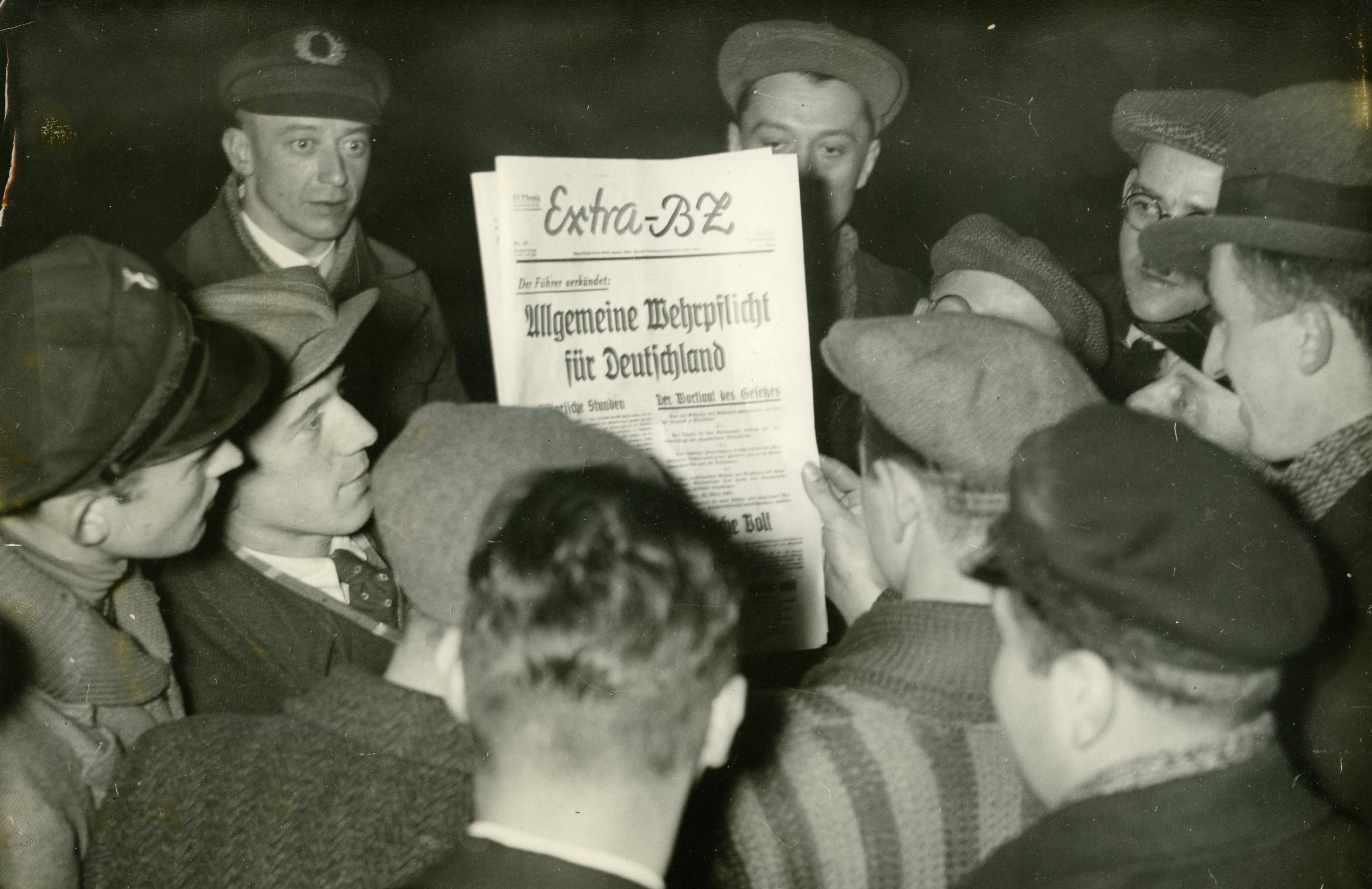 Wiedereinführung Wehrpflicht 1935