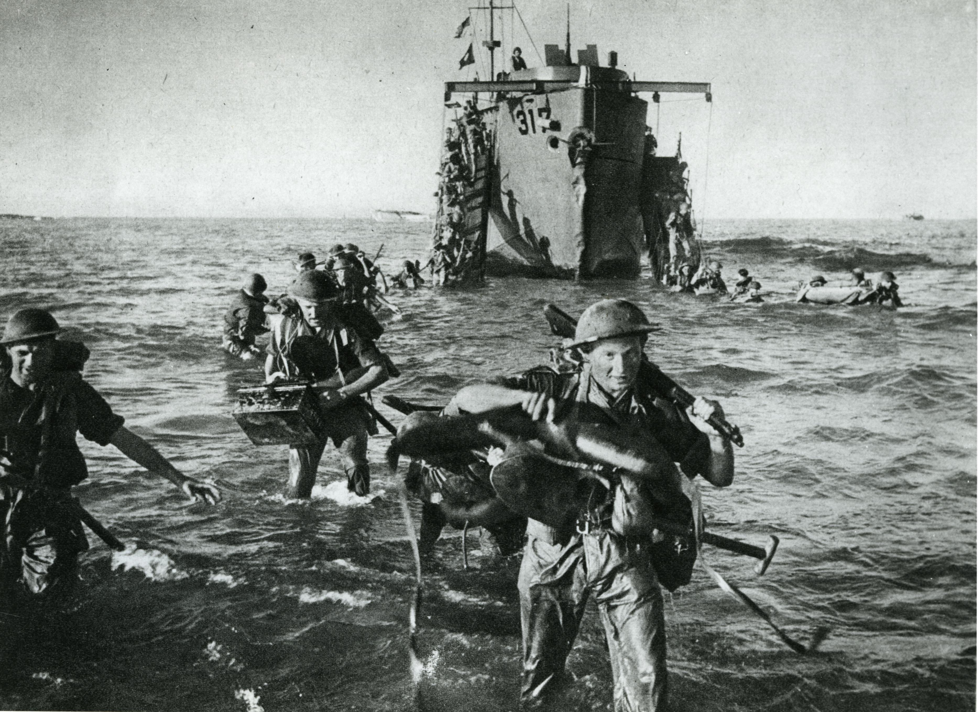 lemo kapitel der zweite weltkrieg kriegsverlauf landung auf