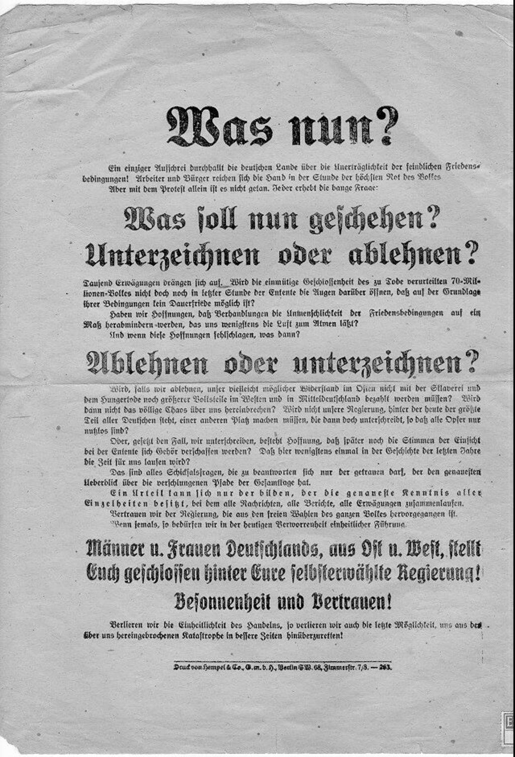 Lemo Kapitel Weimarer Republik Außenpolitik Pariser
