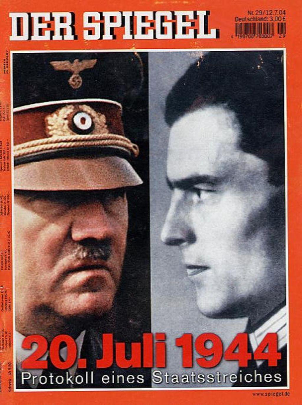 Lemo lebendiges museum online r ckblick der 20 juli 1944 for Der spiegel zeitung
