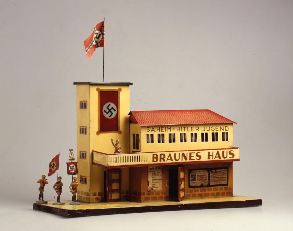 Braunes Haus lemo bestand objekt braunes haus um 1935