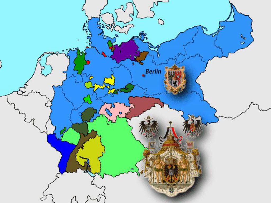 karte deutsches reich 1914