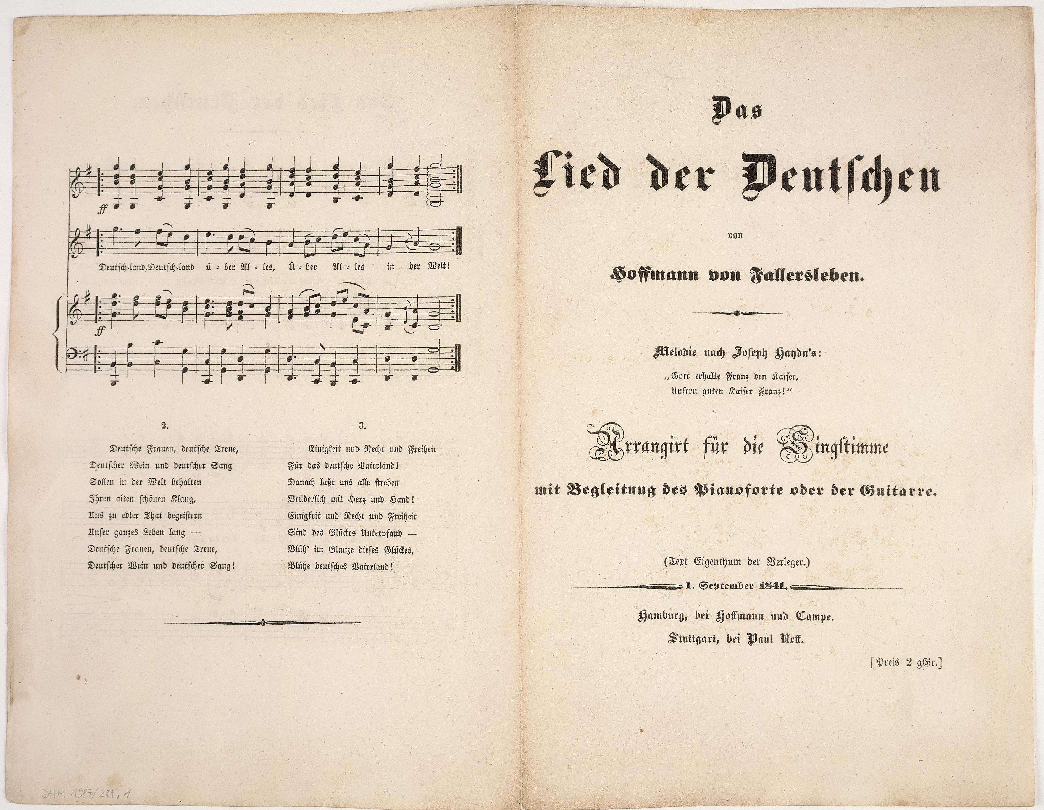 LeMO Bestand - Objekt - Textblatt