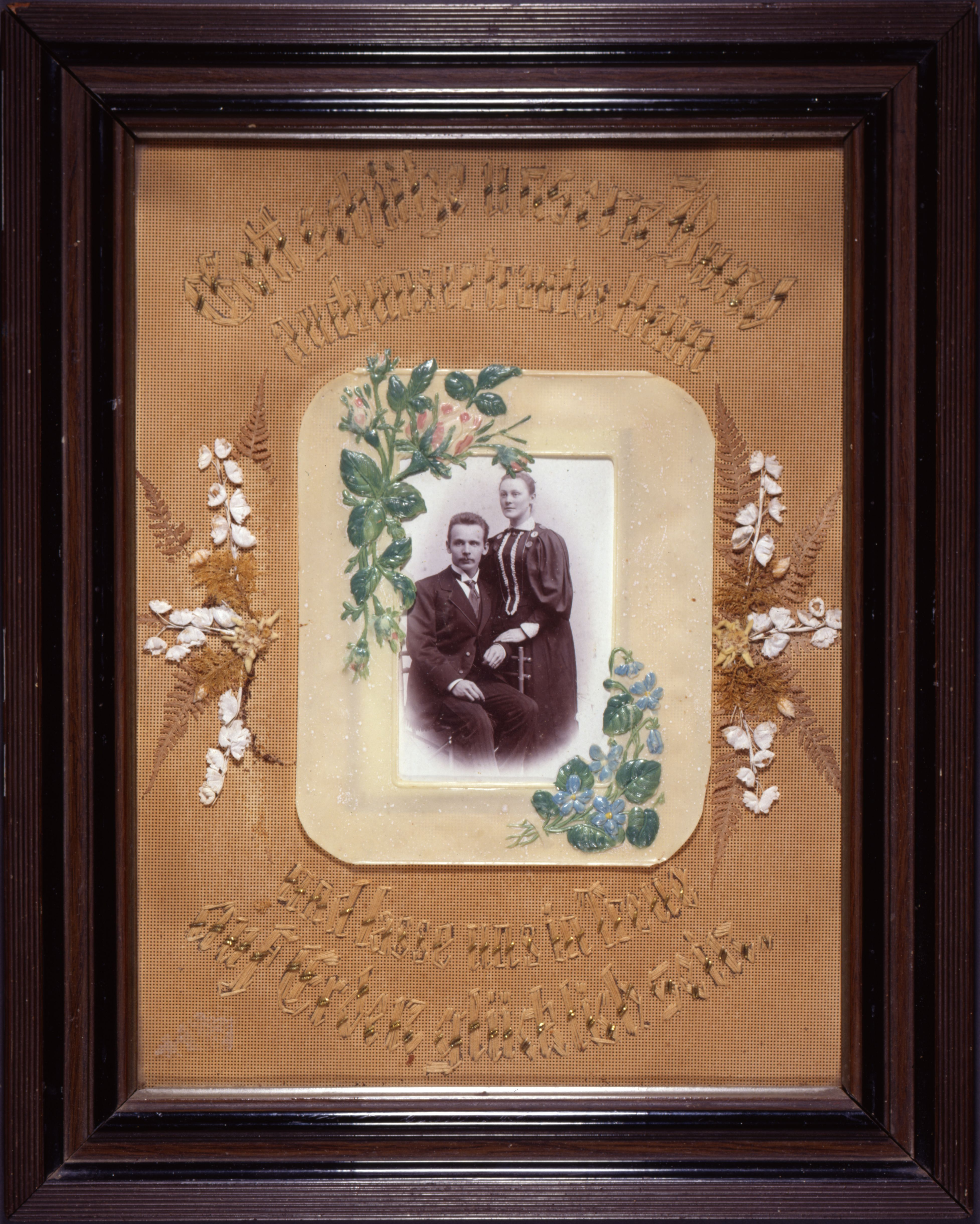 lemo bestand objekt erinnerungsbild an die hochzeit um 1900. Black Bedroom Furniture Sets. Home Design Ideas