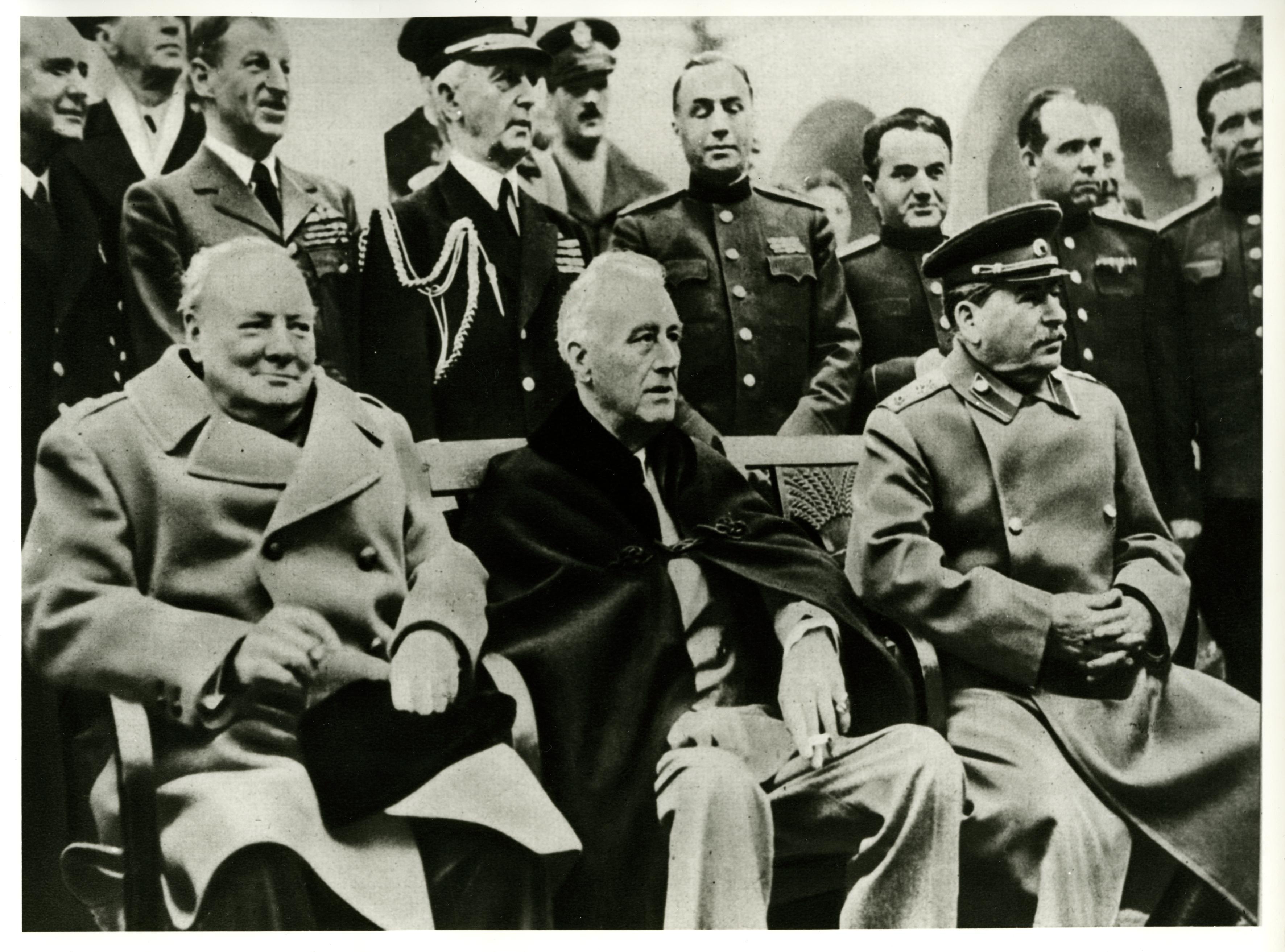 Lemo Kapitel Der Zweite Weltkrieg Kriegsverlauf Konferenz Von