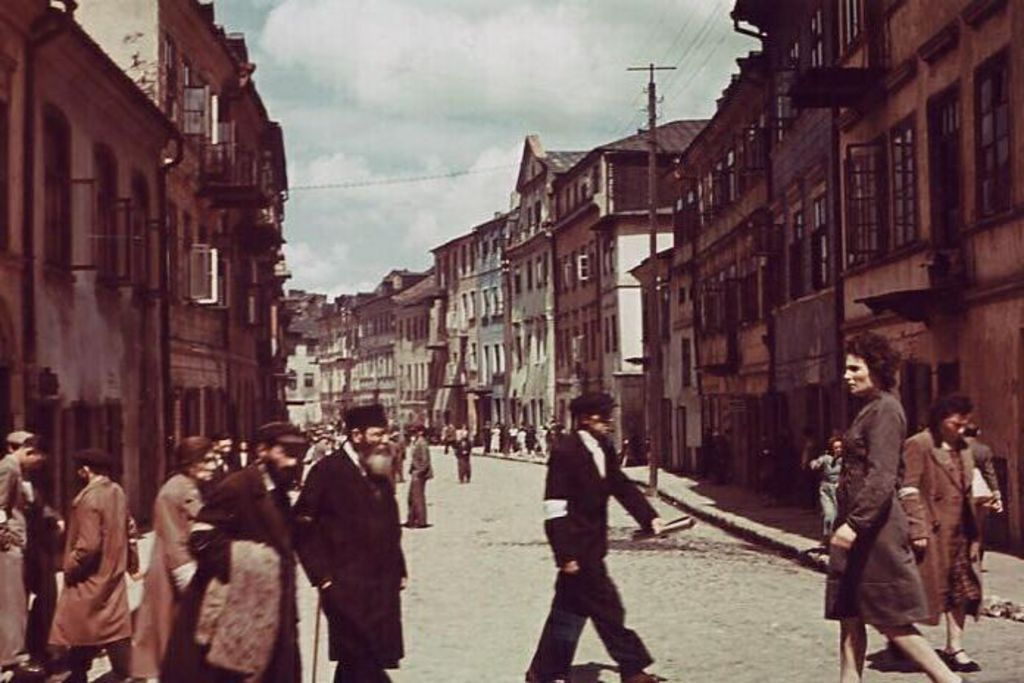 Exponat: Photo: Ghetto Lublin, 1941