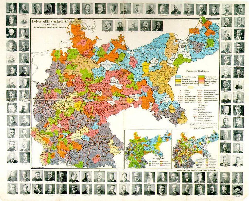 Deutsches Reich Karte 1943.Lemo Kapitel Kaiserreich Innenpolitik Parteien Und