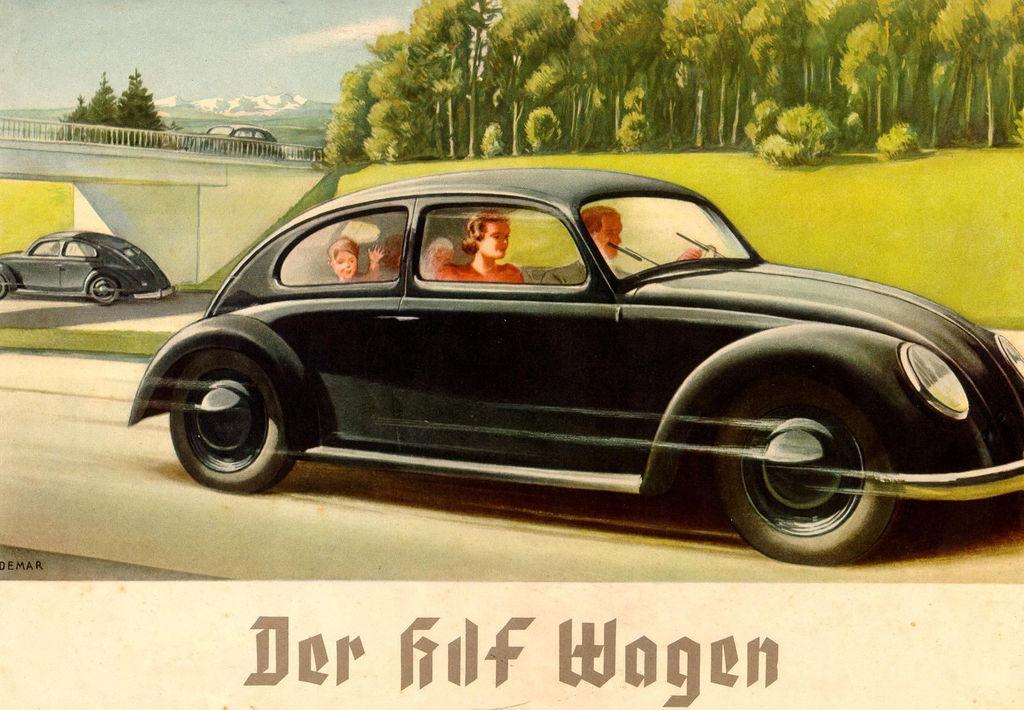 Lemo Bestand Objekt Der Kdf Wagen Um 1936