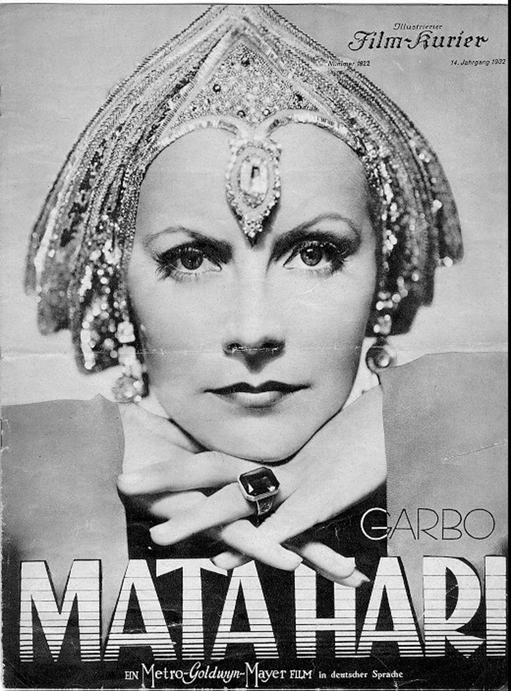 "Film programme for ""Mata Hari"" with Greta Garbo, Illustrierter Film-Kurier Nr. 1822, Film-Kurier GmbH, Print, Berlin, 1932 © DHM"