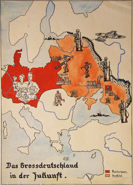 Deutsches Reich Karte 1943.Lemo Bestandsuche Karte