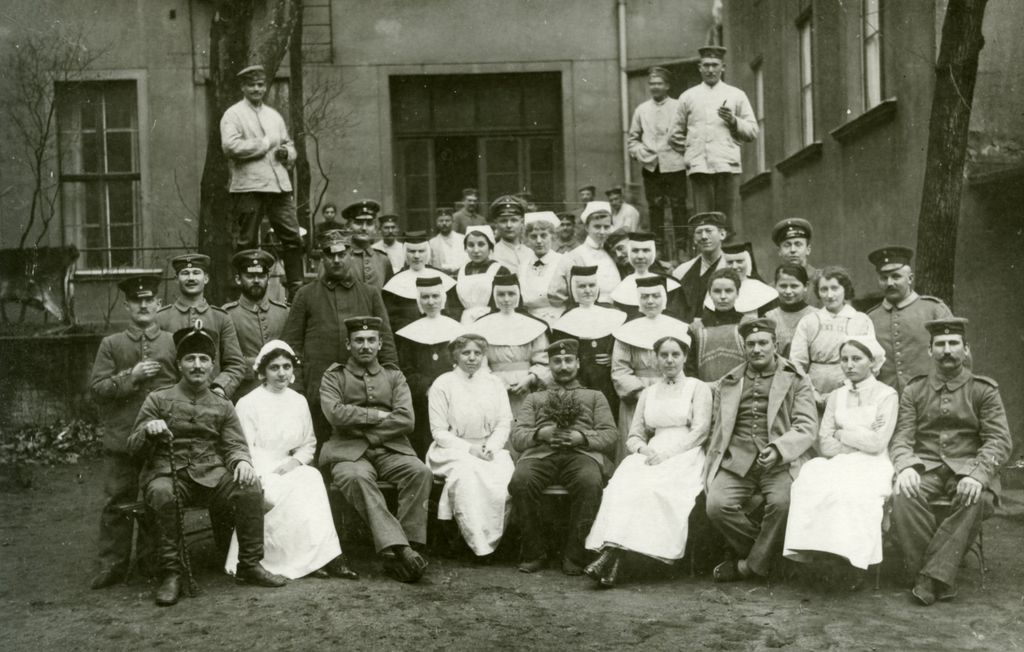 Photo: Marienkrankenhaus Berlin, um 1916