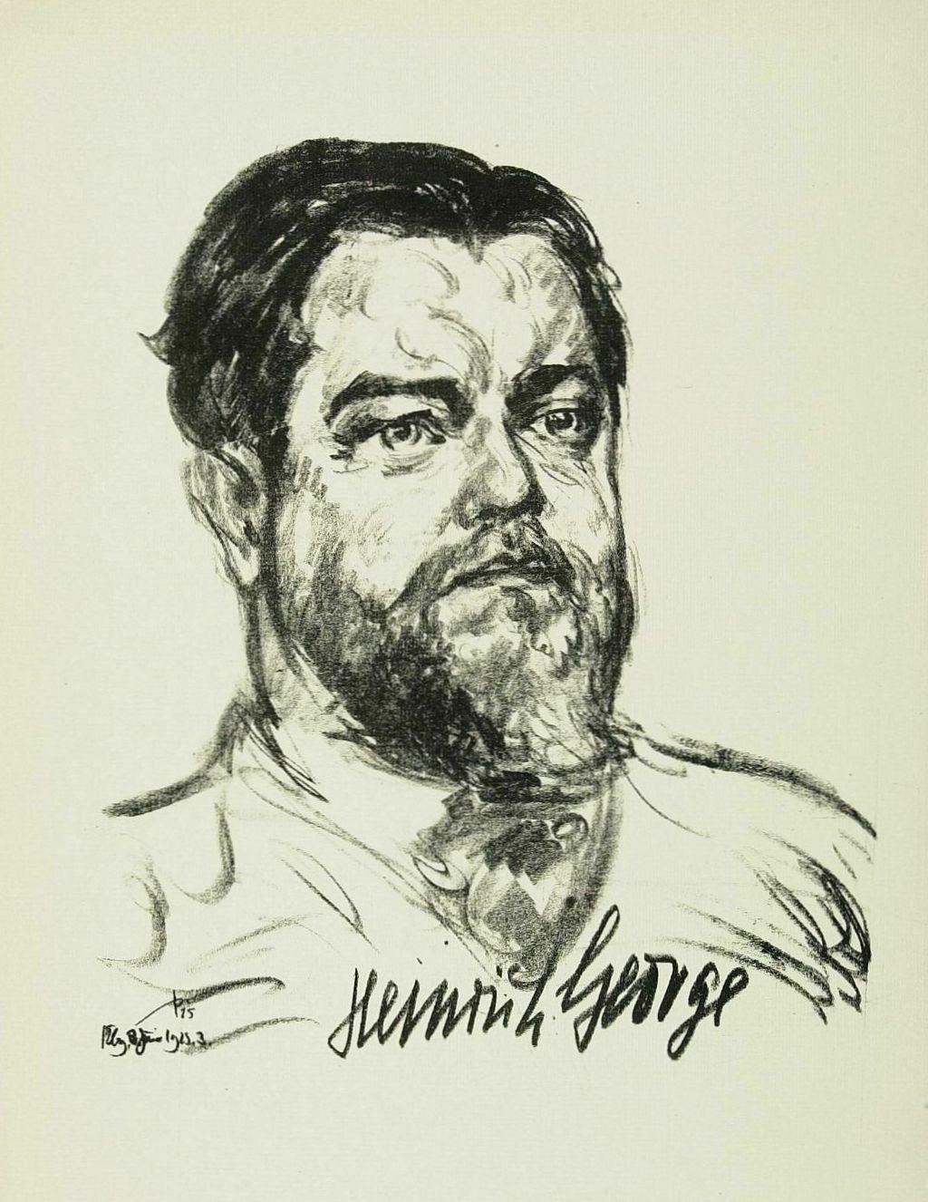 biografie heinrich george - Heinrich Bll Lebenslauf