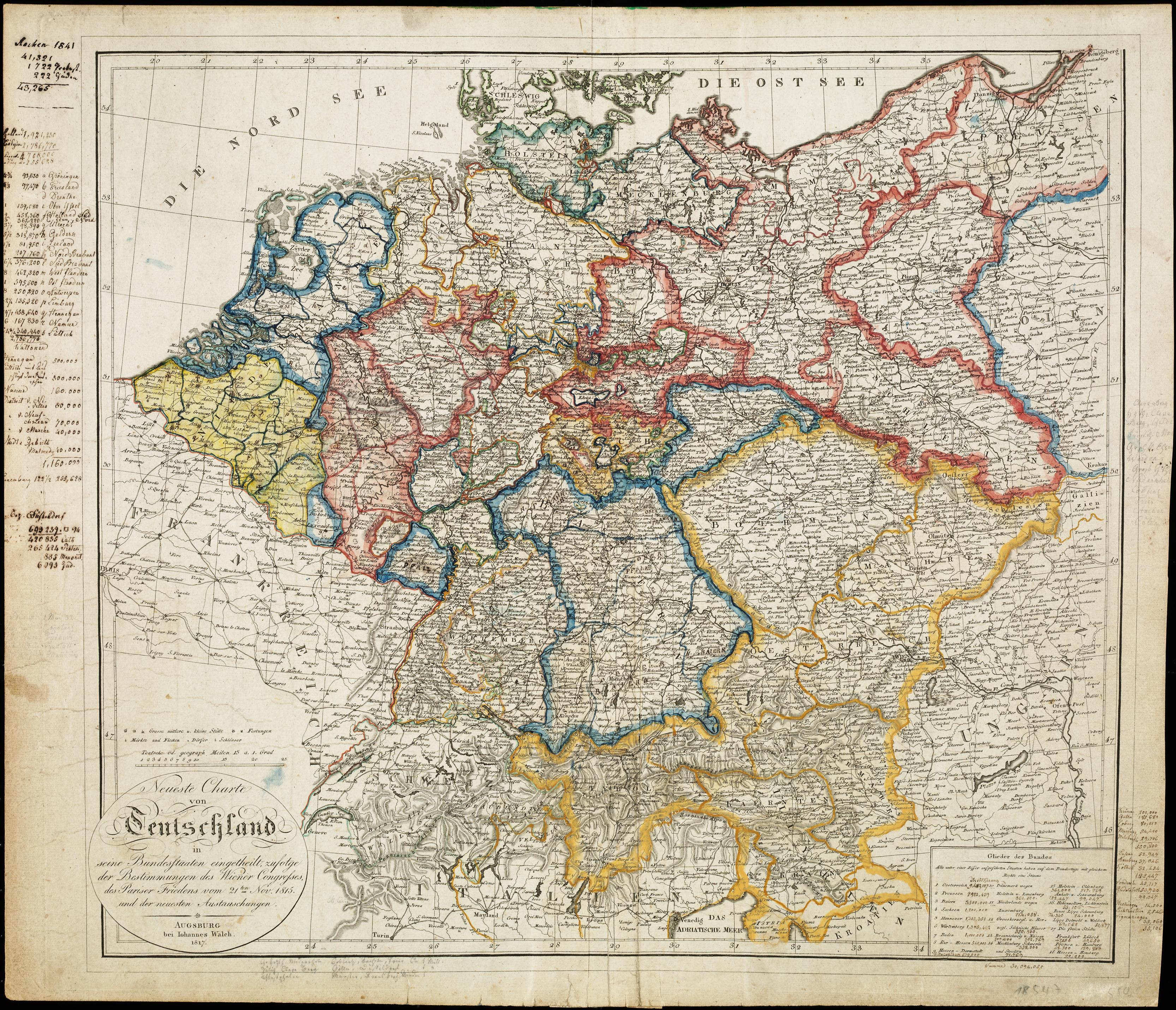Deutsches Reich Karte 1943.Lemo Bestandsuche Deutscher Bund