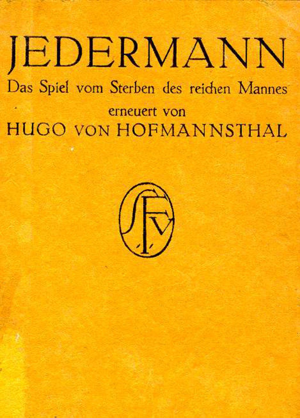 Jedermann Hofmannsthal