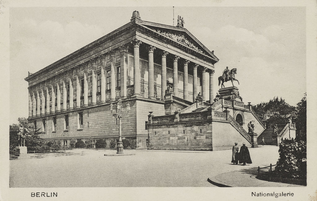Exponat: Postkarte: Die Nationalgalerie in Berlin, nach 1876