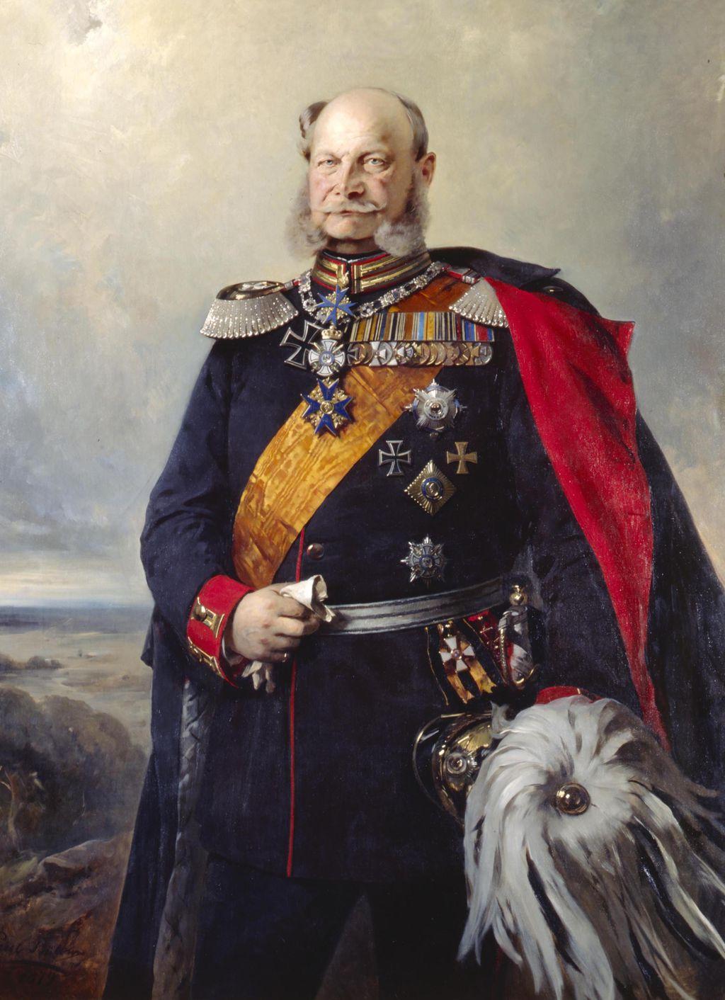 LeMO Bestand - Objekt - Kaiser Wilhelm I. in der Uniform eines Feldmarschalls des 1. Garderegiments zu Fuß, 1879