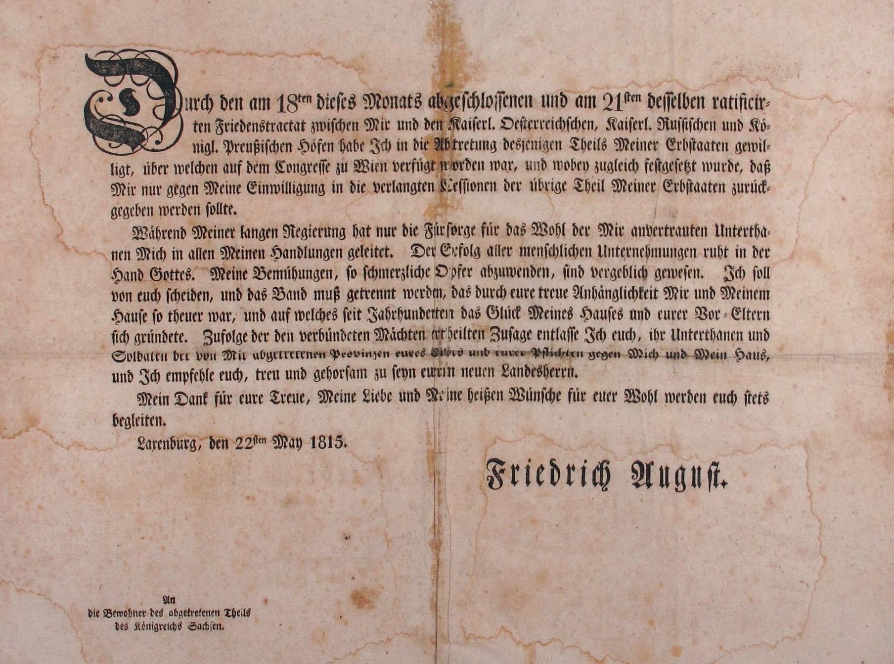 Lemo Kapitel Vormarz Und Revolution Wiener Kongress Neuordnung