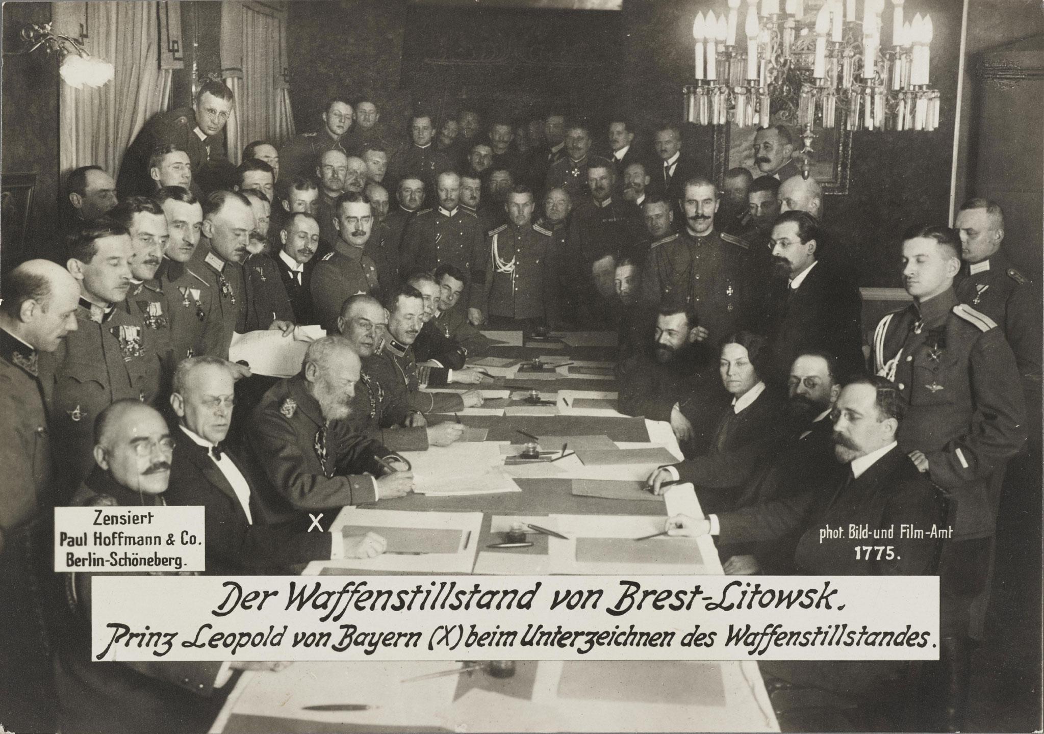 Lemo Kapitel Erster Weltkrieg Kriegsverlauf Friede Von Brest