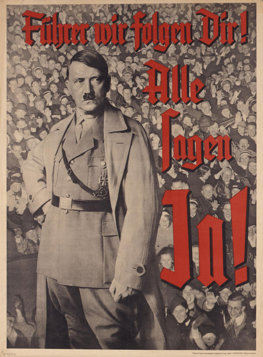 racial propaganda during the reign of the third reich (the third reich – politics and propaganda the significance of nazi propaganda under hitler's and the nazi's during their terrorizing reign of.