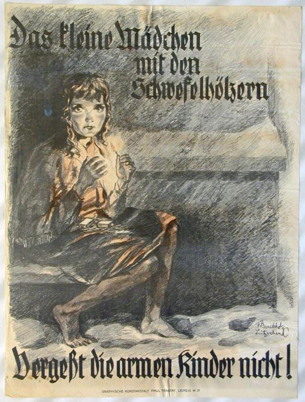 Das Kleine Mädchen Mit Den Schwefelhölzern